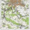 Топографическая карта Мерефы и Харьковской области